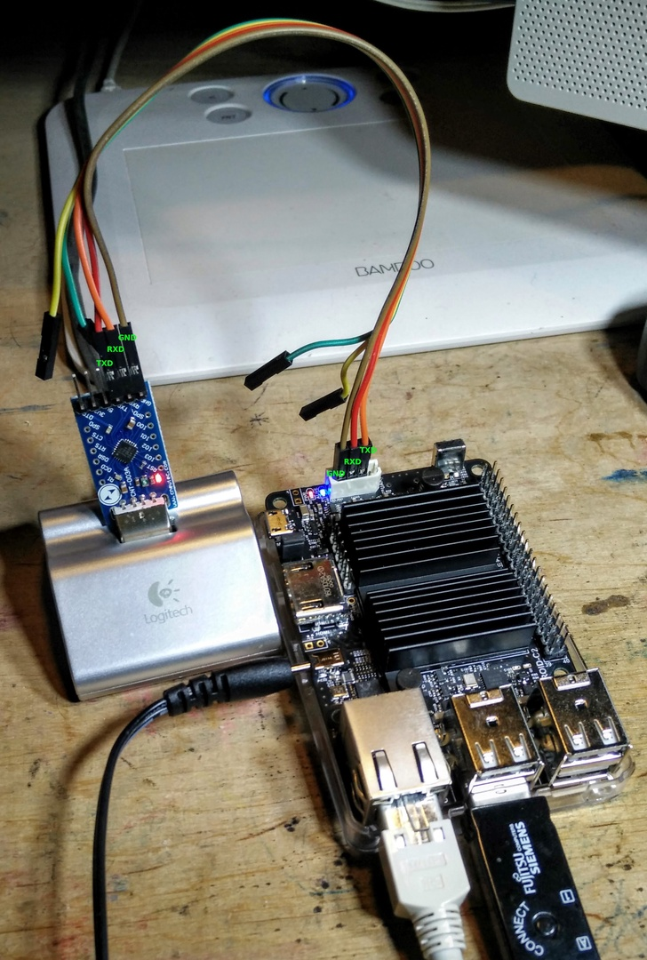 Serial connection for Odroid · Frank Ridderbusch